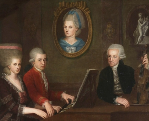 Mozart and his family